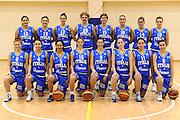 ROMA 27 NOVEMBRE 2011<br /> BASKET NAZIONALE FEMMINILE UNDER 17<br /> NELLA FOTO FOTO DI SQUADRA