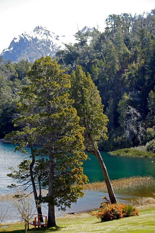 South America, Argentina, Bariloche. Lago Moreno.