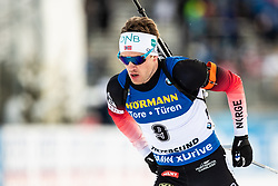 March 9, 2019 - –Stersund, Sweden - 190309 Tarjei Bø of Norway competes in the Men's 10 KM sprint during the IBU World Championships Biathlon on March 9, 2019 in Östersund..Photo: Johan Axelsson / BILDBYRÃ…N / Cop 245 (Credit Image: © Johan Axelsson/Bildbyran via ZUMA Press)