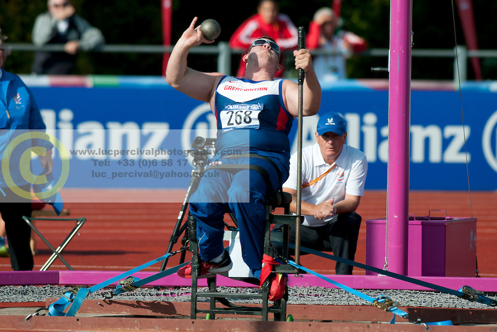 TSCHERNIAWSKY Kieran, 2014 IPC European Athletics Championships, Swansea, Wales, United Kingdom