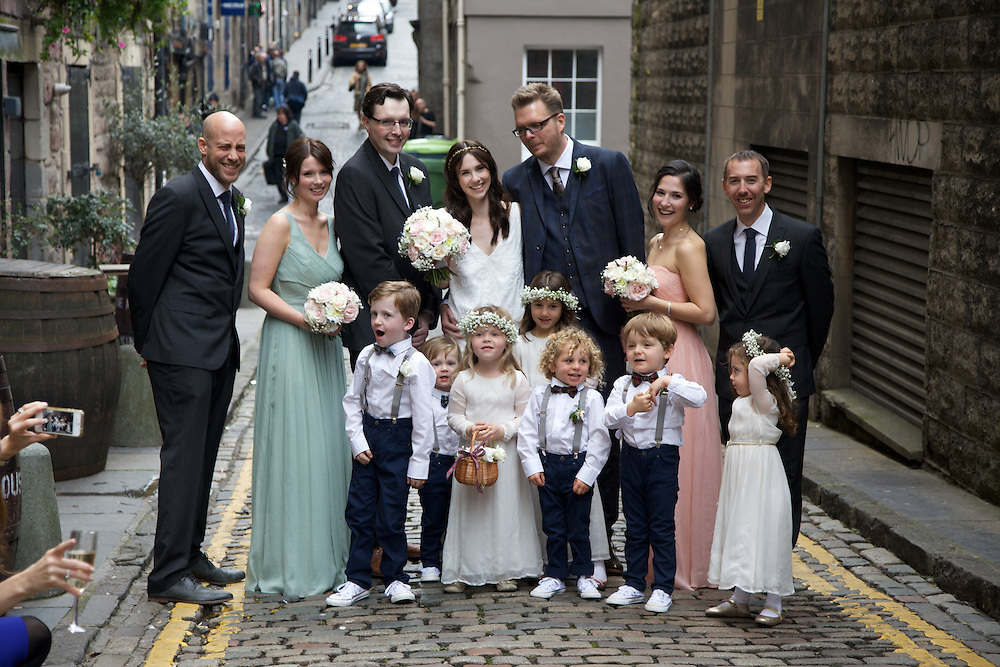 Carly & Sean's Wedding, Edinburgh
