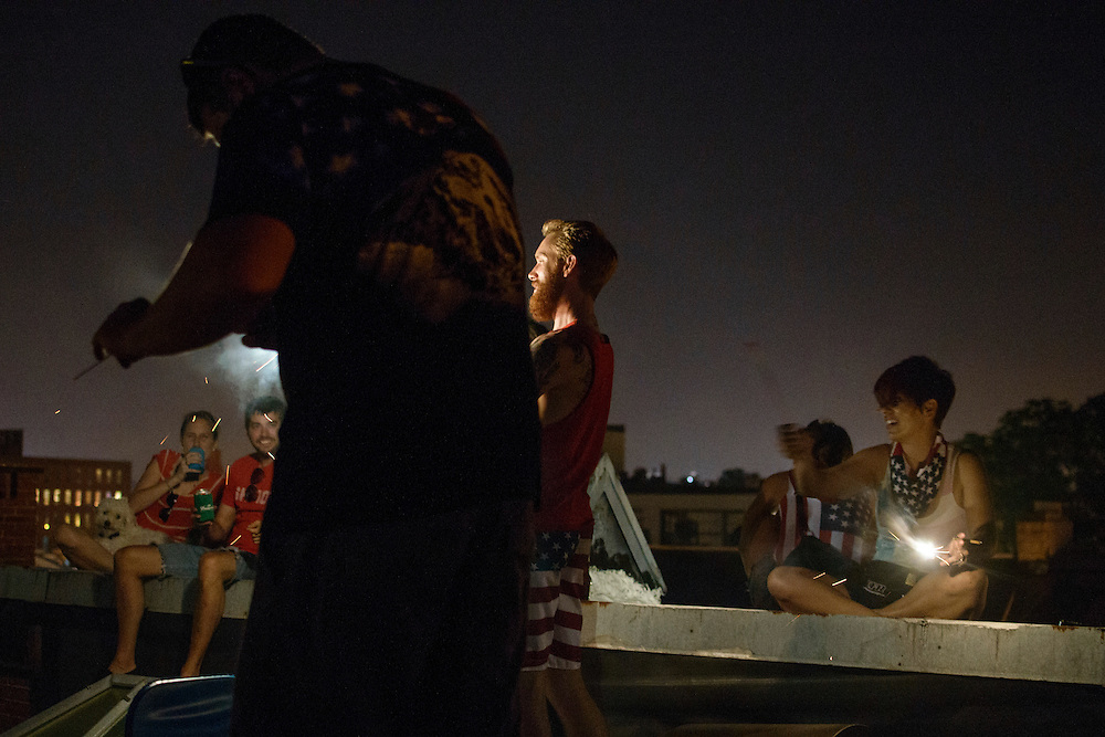 Baltimore, Maryland - July 04, 2013: <br /> Fourth of July on Josh &amp; Tom's Rooftop!<br /> CREDIT: Matt Roth