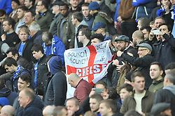 CHELSEA, FANS,  MK Dons v Chelsea,  FA Cup 4th Round Stadium MK Sunday 31st January 2016