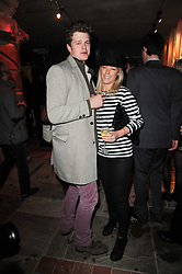 ALEX CHERRY and DAVINA HARBORD at the launch party for the new nightclub Public at 533 Kings Road, London on 2nd December 2010.