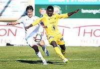 Fotball , 12. mars 2015 ,  privatkamp  Stabæk - Bodø/Glimt 1-1<br /> Cole Grossman ,  Stabæk<br /> Papa Ndiaye , Glimt