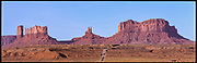 Monument Valley Long Road, Arizona, USA, 1994