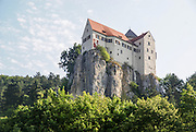 Schloss overlooking the Rhine–Main–Danube Canal near Regensburg, Bavaria, Germany