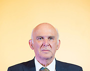 """Vince Cable speech """"Turning the Lib Dems into a Movement of the Moderates"""" - the  launch of Liberal Democrat reform proposals, including speech and press Q&A.<br /> 7th September 2018  <br /> At the National Liberal Club, London. Great Britain <br /> <br /> Vince Cable MP <br /> <br /> <br /> Photograph by Elliott Franks"""