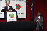 l to r: Vice President Joe Biden and Rev. Al Sharpton at The 11th National Conference of The National Action Network held at The Sheraton on April 3, 2009 in New York City.