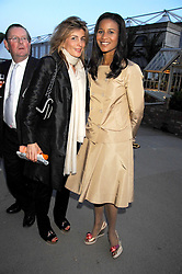 Left to right, MARYAM SACHS and PRINCESS ANGELA OF LICHTENSTEIN at a reception at the gold medal winning De Beers garden in aid of the KT Wong Charitable Trust at the 2nd day of the 2008 Chelsea Flower show on 20th May 2008.<br /><br />NON EXCLUSIVE - WORLD RIGHTS