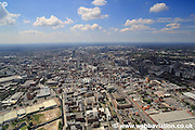 aerial photographs of Manchester England UK