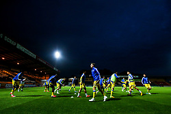 Bristol Rovers warm up at Rochdale - Mandatory by-line: Robbie Stephenson/JMP - 02/10/2018 - FOOTBALL - Crown Oil Arena - Rochdale, England - Rochdale v Bristol Rovers - Sky Bet League One