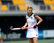 Surbiton's Georgie Twigg during their opening game of the EHCC 2017 at Den Bosch HC, The Netherlands, 2nd June 2017