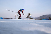 PYEONGCHANG-GUN, SOUTH KOREA - FEBRUARY 16: Andrey Larkov of Olympic Athletes of Russia during the mens Cross Country 15k free technique at Alpensia Cross-Country Centre on February 16, 2018 in Pyeongchang-gun, South Korea. Photo by Nils Petter Nilsson/Ombrello               ***BETALBILD***