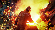 Copyright Jim Rice © 2013.<br /> Steel Manufacture.<br /> Australia