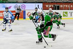 Bostjan Golicic (HDD Tilia Olimpija, #71)during ice-hockey match between HDD Tilia Olimpija and SAPA Fehervar AV19 at second match in Quarterfinal  of EBEL league, on Februar 21, 2012 at Hala Tivoli, Ljubljana, Slovenia. (Photo By Matic Klansek Velej / Sportida)