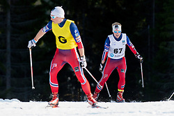 BYE Eirik Guide: HELLERUD KM, NOR, Long Distance Cross Country, 2015 IPC Nordic and Biathlon World Cup Finals, Surnadal, Norway