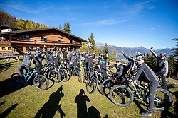 26.10.2018, Lienz, AUT, Bora Hansgrohe German Professional Cycling Team auf Höhentrainingslager in Osttirol, im Bild Team Bora - HansGrohe // during a training session of Bora Hansgrohe German Professional Cycling Team in Eastern Tyrol. Lienz Austria on 2018/10/26. EXPA Pictures © 2018, PhotoCredit: EXPA/ Dominik Angerer