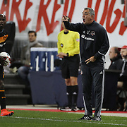 Owen Coyle, Head Coach of the Houston Dynamo, during the New York Red Bulls Vs Houston Dynamo, Major League Soccer regular season match at Red Bull Arena, Harrison, New Jersey. USA. 19th March 2016. Photo Tim Clayton