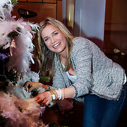 NLD/Hilversum/20121207 - Skyradio Christmas Tree, Daphne Lammers