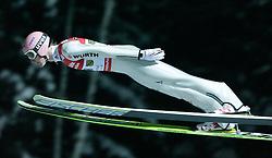 01.02.2011, Vogtland Arena, Klingenthal, GER, FIS Ski Jumping Worldcup, Team Tour, Klingenthal, im Bild Severin Freund, GER während der Qualifikation // during the FIS Ski Jumping Worldcup, Team Tour in Klingenthal, Germany 1/2/2011. EXPA Pictures © 2011, PhotoCredit: EXPA/ Jensen Images/ Ingo Jensen +++++ ATTENTION +++++ GERMANY OUT!