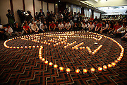 BEIJING, CHINA - APRUL 08: (CHINA OUT) <br /> <br /> Relatives Of Passengers On The Missing Malaysia Airlines Flight MH370 Pray In Beijing<br /> <br /> Chinese relatives of passengers on the missing Malaysia Airlines flight MH370 take part in a prayer service at the Metro Park Hotel on April 8, 2014 in Beijing, China. An Australian ship searching for a missing Malaysia Airlines jetliner has picked up signals consistent with the beacons from aircraft black box recorders, in what search officials said on Monday was the most promising lead yet in the month-long hunt. ©Exclusivepix