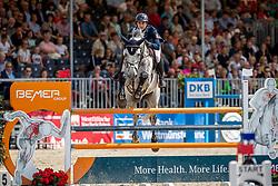 RIPPLOH Paul (GER), Chevalier de Blue<br /> Münster - Turnier der Sieger 2019<br /> Preis der PROVINZIAL VERSICHERUNG<br /> Junioren-Förderpreis 2019<br /> 03. August 2019<br /> © www.sportfotos-lafrentz.de/Stefan Lafrentz