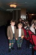 FENSTON MORRIS; LUDLOW MORRIS, The Royal Caledonian Ball 2010. Grosvenor House. Park Lane. London. 30 April 2010 *** Local Caption *** -DO NOT ARCHIVE-© Copyright Photograph by Dafydd Jones. 248 Clapham Rd. London SW9 0PZ. Tel 0207 820 0771. www.dafjones.com.<br /> FENSTON MORRIS; LUDLOW MORRIS, The Royal Caledonian Ball 2010. Grosvenor House. Park Lane. London. 30 April 2010