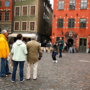 Storatorget, the old square in Gamla Stan, , is picturesque and filled with history. The old square is ringed with lovely 18th century buildings and has interesting narrow shopping streets leading to and from its center. <br /> Jose More Photography