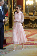 101219 Spanish Royals attend national day reception