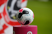 The Nike Merlin Match Ball before the Premier League match between Sheffield United and Crystal Palace at Bramall Lane, Sheffield, England on 18 August 2019.