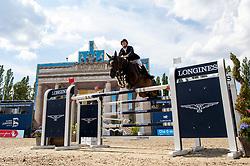 BRUYNSEELS Niels (BEL), Cas de Liberte<br /> Berlin - Global Jumping Berlin 2018<br /> Longines Global Champions Tour<br /> Grand Prix of Berlin presented by Sapinda<br /> 28. Juli 2018<br /> © www.sportfotos-lafrentz.de/Stefan Lafrentz