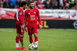 11-03-2018 NED: FC Utrecht - Vitesse, Utrecht<br /> Utrecht verslaat met 5-1 Vitesse / Yassin Ayoub #8 of FC Utrecht, Zakaria Labyad #10 of FC Utrecht