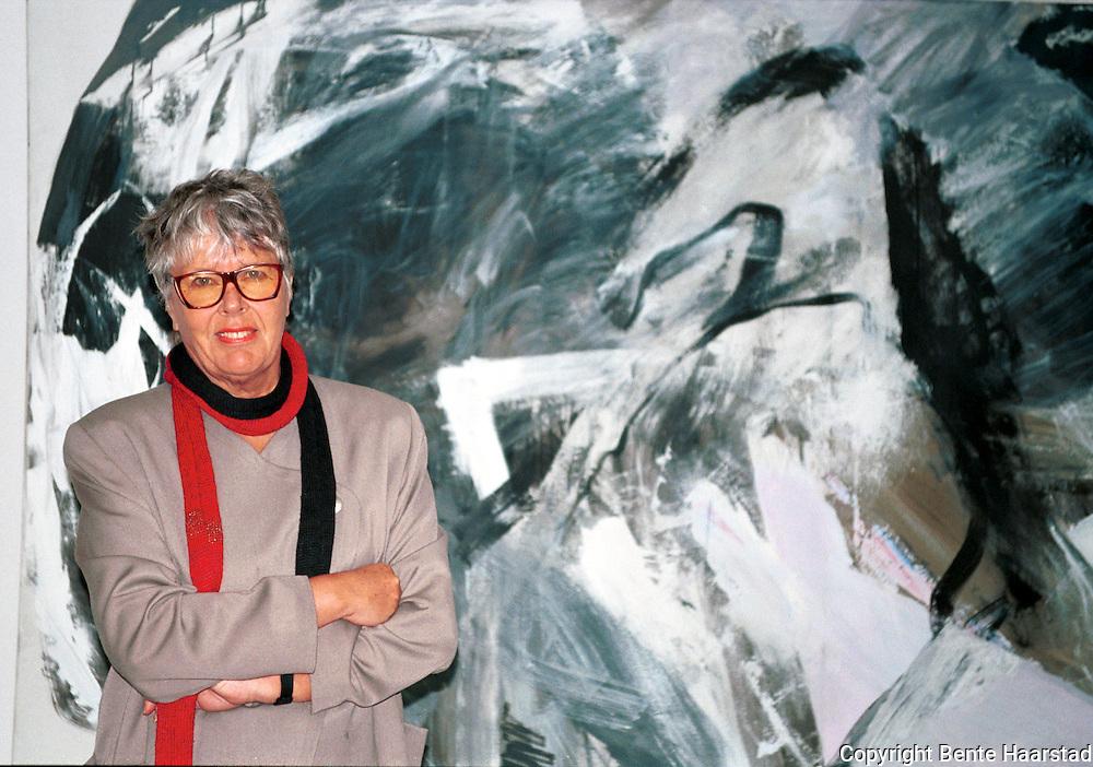Inger Sitter, kunstner, Trondhjem Kunstforening<br /> neg