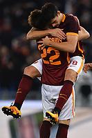 Diego Perotti, Stephan El Shaarawy Roma <br /> Roma 07-02-2016 Stadio Olimpico, Football Calcio 2015/2016 Serie A. AS Roma - Sampdoria . Foto Andrea Staccioli / Insidefoto