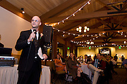 Maja and Rob's wedding Randy speaking.