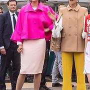 NLD/Amersfoort/20190427 - Koningsdag Amersfoort 2019, Prinses Marylene en Prinses Aimee