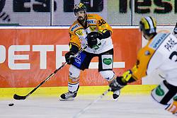 Yannik Tremblay (Moser Medical Graz99ers, #38) during ice-hockey match between HDD Tilia Olimpija and Moser Medical Graz99ers in 10th Round of EBEL league, on October 10, 2010 at Hala Tivoli, Ljubljana, Slovenia. (Photo By Matic Klansek Velej / Sportida.com)