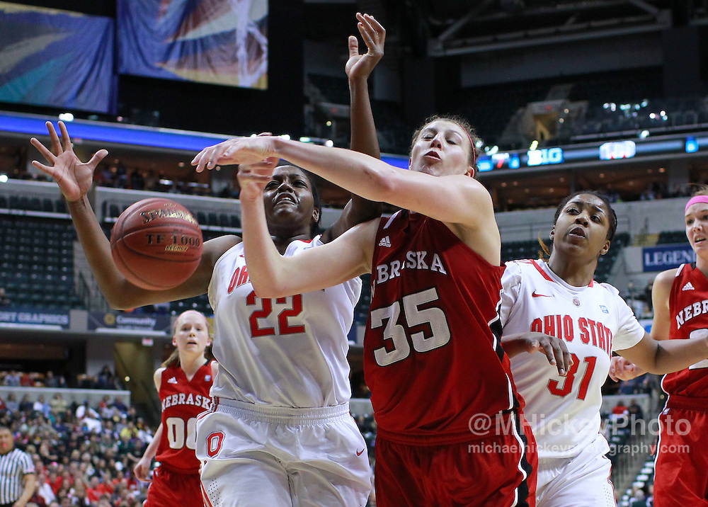 March 03, 2012; Indianapolis, IN, USA;  during the semifinals of the 2012 Big Ten Tournament at Bankers Life Fieldhouse. Nebraska defeated Ohio State 77-62. Mandatory credit: Michael Hickey-US PRESSWIRE