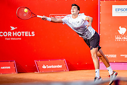October 4, 2018 - Campinas, Brazil - CAMPINAS, SP - 04.10.2018: ATP CHALLENGER CAMPINAS - Barrios Vera (CHI) in a game that will be played in the eighth round of the ATP Challenger of Campinas, held in this city of the interior of São Paulo, this Thursday (4), at the Horsemanship Park of Campinas. (Credit Image: © Fabio Leoni/Fotoarena via ZUMA Press)