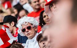 18.06.2016, Parc de Princes, Paris, FRA, UEFA Euro, Frankreich, Portugal vs Oesterreich, Gruppe F, im Bild Österreich Fan als Mozart verkleidet // dressed Austria fan as Mozart during Group F match between Portugal and Austria of the UEFA EURO 2016 France at the Parc de Princes in Paris, France on 2016/06/18. EXPA Pictures © 2016, PhotoCredit: EXPA/ JFK