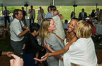 Jen and Tony's Wedding Day.  Under the Tent ~ Reception.  York, Maine.  ©2015 Karen Bobotas Photographer