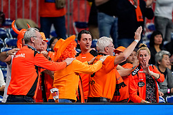 06-12-2019 JAP: Norway - Netherlands, Kumamoto<br /> Last match groep A at 24th IHF Women's Handball World Championship. / The Dutch handball players won in an exciting game of fear gegner Norway and wrote in the last group match at the World Handball  World Championship history (30-28). / Dutch Orange support