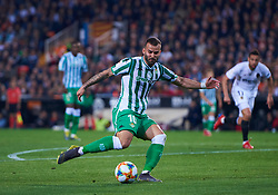 February 28, 2019 - Valencia, U.S. - VALENCIA, SPAIN - FEBRUARY 28: Jese Rodriguez, forward of Real Betis Balompie in action with the ball during the Copa del Rey match between Valencia CF and Real Betis Balompie at Mestalla stadium on February 28, 2019 in Valencia, Spain. (Photo by Carlos Sanchez Martinez/Icon Sportswire) (Credit Image: © Carlos Sanchez Martinez/Icon SMI via ZUMA Press)