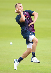 England's Tom Curran during a training session at The Oval, London.