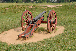 Valley Forge National Historical Park.  Historic cannon..Philadelphia, Pennsylvania, PA USA.  Photo copyright Lee Foster, 510-549-2202, lee@fostertravel.com, www.fostertravel.com.  Photo 375-30349