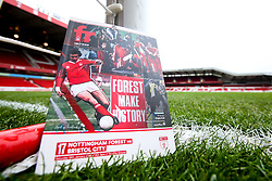 A general view of The City Ground, home to Nottingham Forest, with the match day programme - Mandatory by-line: Robbie Stephenson/JMP - 19/01/2019 - FOOTBALL - The City Ground - Nottingham, England - Nottingham Forest v Bristol City - Sky Bet Championship