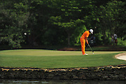 Rickie Fowler during the final round of the Wells Fargo Championship at the Quail Hollow Club on May 6, 2012 in Charlotte, N.C. Fowler won in a three-way playoff with Rory McIllroy and D.A. Points...©2012 Scott A. Miller.
