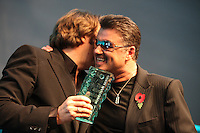Jonathan Ross and George Michael