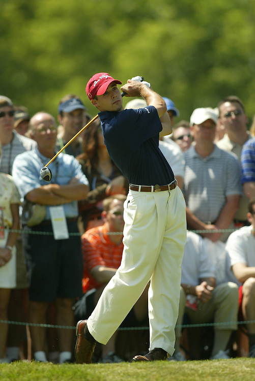 2003 U.S. Open..Fourth Round..Olympia Fields CC..Chicago, IL..Sunday June 15 2003..photograph by Darren Carroll